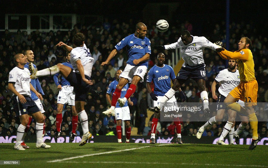 Portsmouth v Aston Villa - Carling Cup Quarter Final