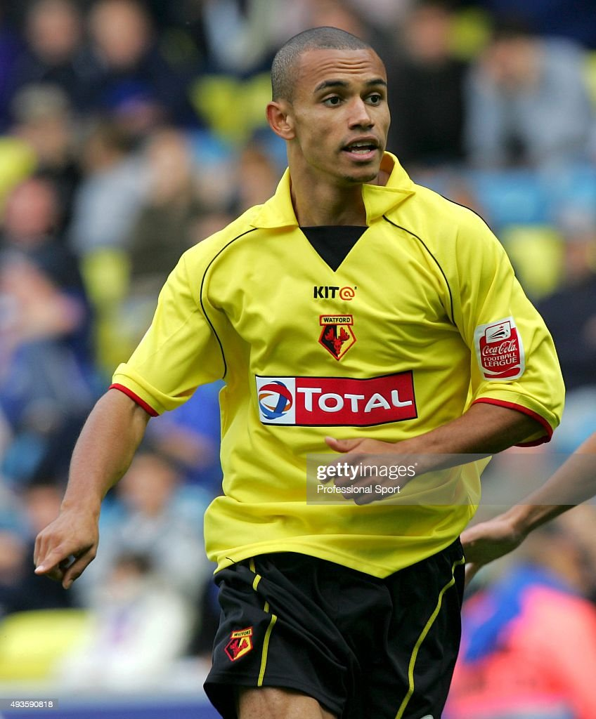 Danny Webber of Watford in action during the Nationwide Division One match between Millwall and Watford at The New Den on April 20, 2004 in London.