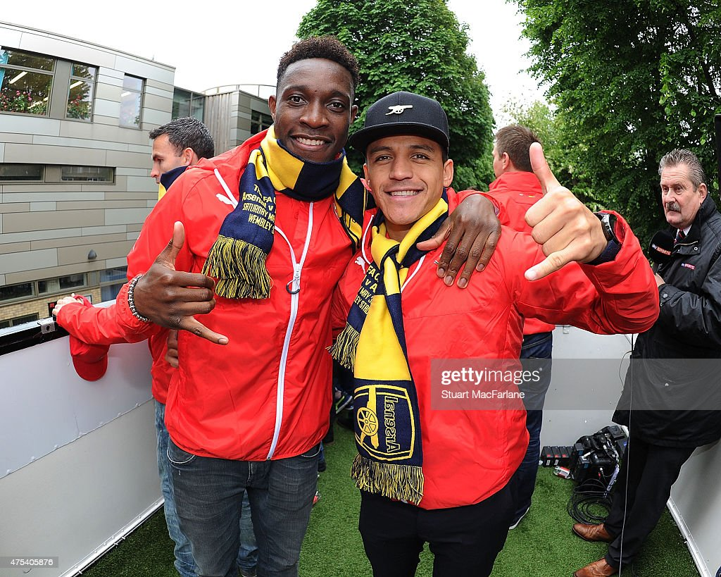 Arsenal FA Cup Victory Parade : News Photo