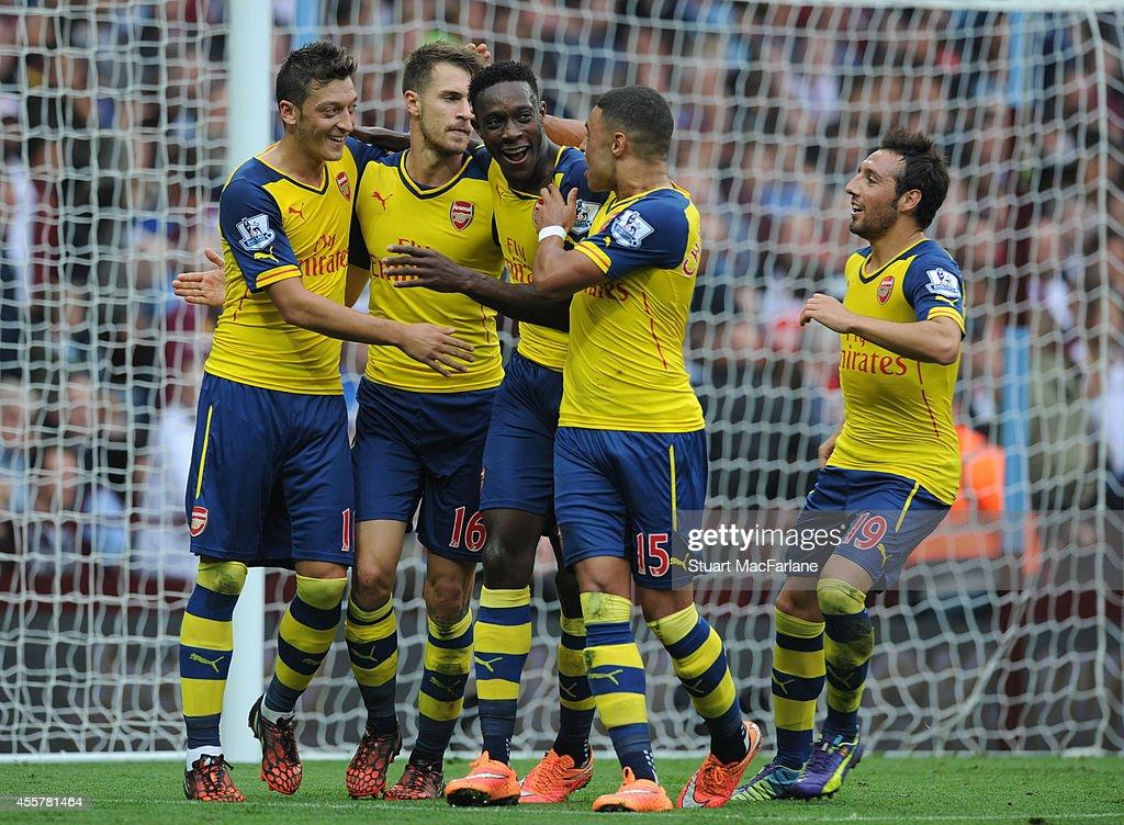 Aston Villa v Arsenal - Premier League : News Photo