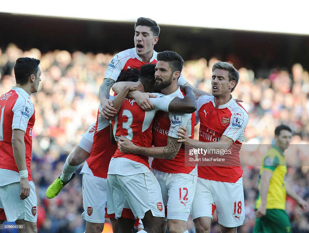 Arsenal v Norwich City - Premier League : News Photo