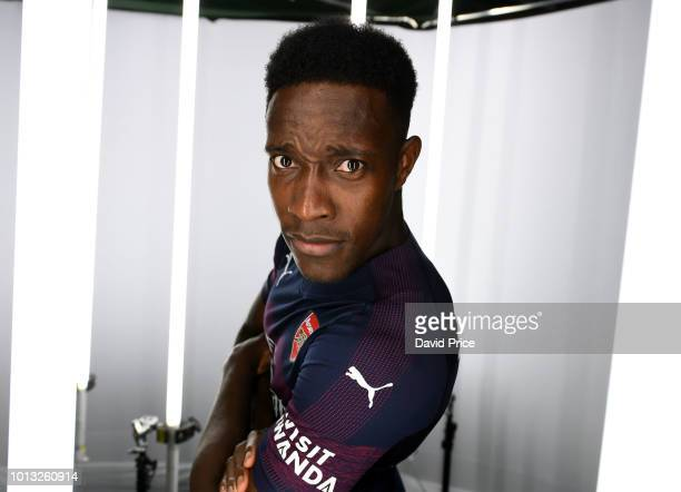 Danny Welbeck of Arsenal during the Arsenal 1st team photocall at London Colney on August 8 2018 in St Albans England