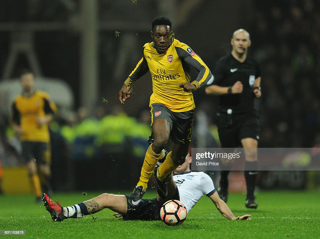Preston North End v Arsenal - The Emirates FA Cup Third Round : News Photo