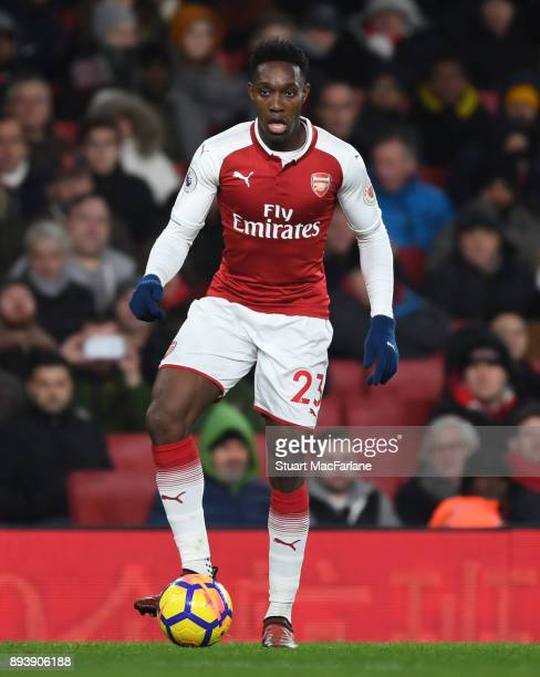 Danny Welbeck of Arsenal during the Premier League match between Arsenal and Newcastle United at Emirates Stadium on December 16 2017 in London...