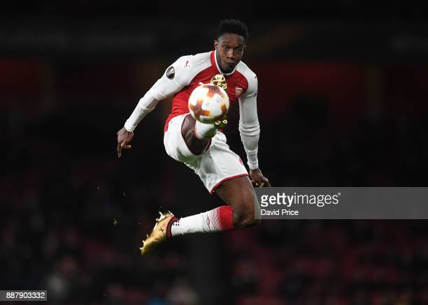 Danny Welbeck of Arsenal during the UEFA Europa League group H match between Arsenal FC and BATE Borisov at Emirates Stadium on December 7 2017 in...