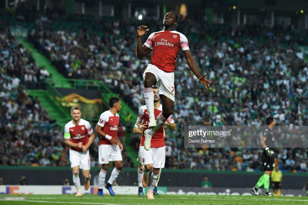 Sporting CP v Arsenal - UEFA Europa League - Group E : News Photo