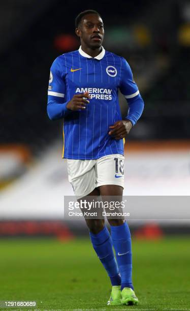 Danny Welbeck of Brighton and Hove Albion during the Premier League match between Fulham and Brighton & Hove Albion at Craven Cottage on December 16,...
