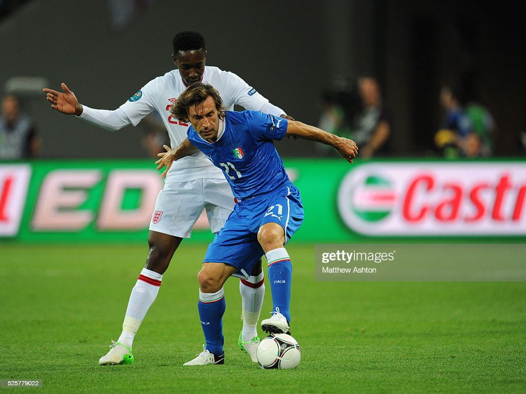 Soccer - UEFA European Championships Euro 2012 - Quarter Final - England v Italy : News Photo