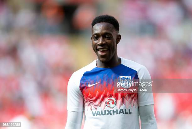 Danny Welbeck of England before the International Friendly between England and Nigeria at Wembley Stadium on June 2 2018 in London England