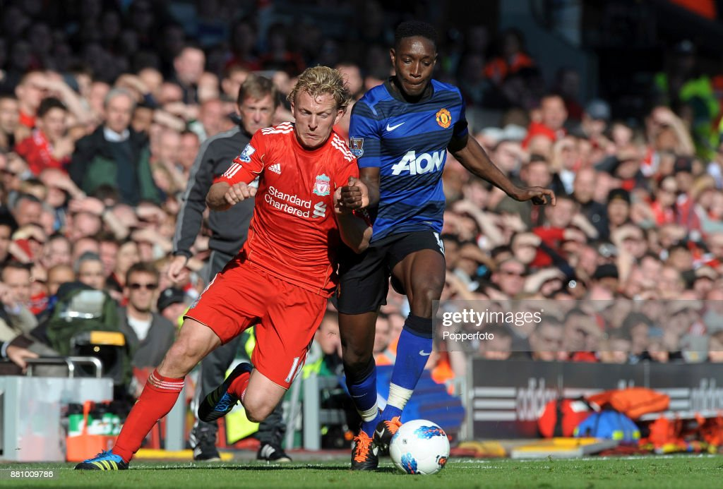 Liverpool v Manchester United - Barclays Premier League : News Photo