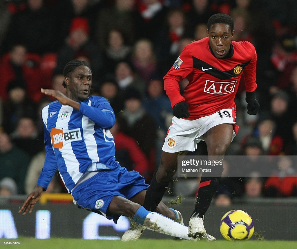 Manchester United v Wigan Athletic - Premier League