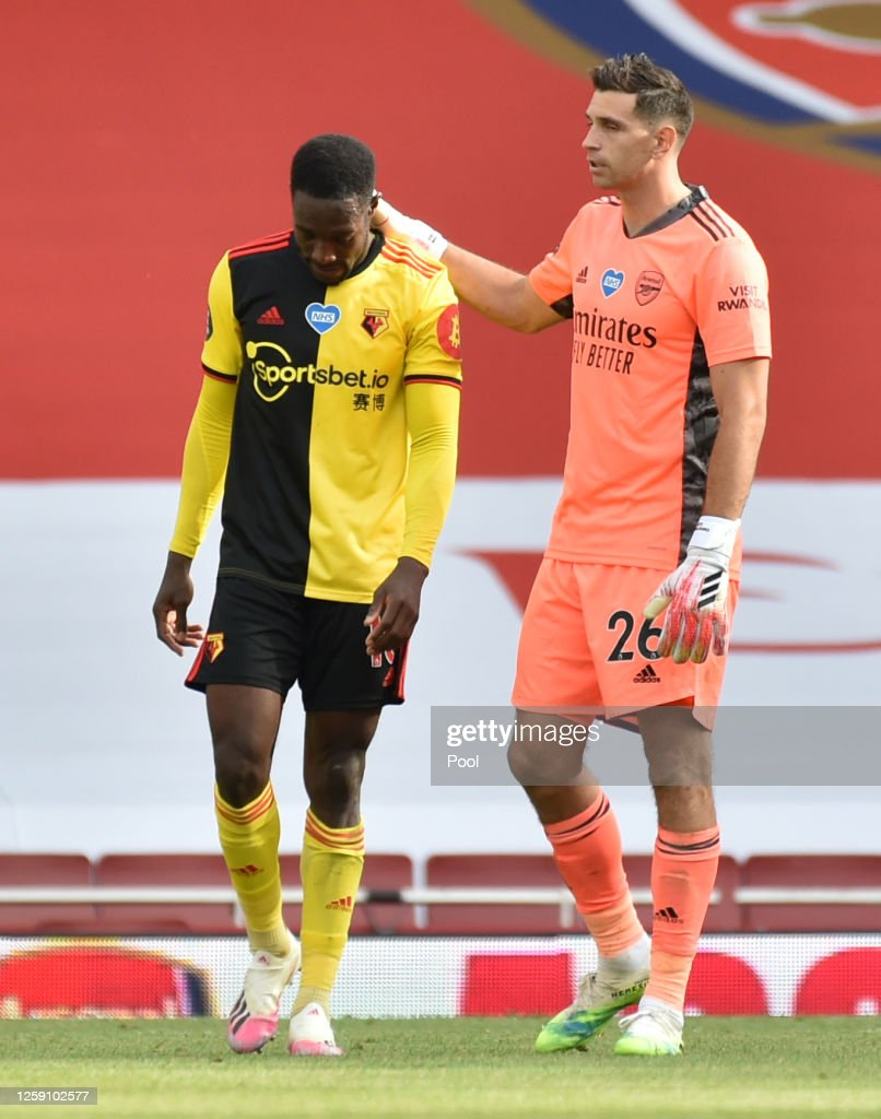 Arsenal FC v Watford FC - Premier League : Nachrichtenfoto