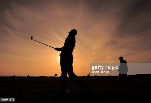 Danny Willett of England during the second round of The Estoril Open de Portugal The Oitavos Dunes Golf Course on April 3 2009 in Cascais Portugal