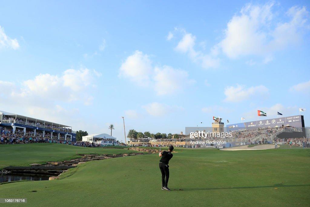 DP World Tour Championship - Day Four : Photo d'actualité