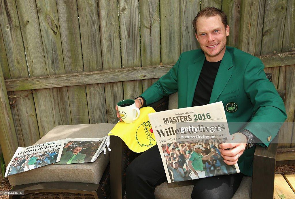 Danny Willett - 2016 Masters Winner Media Access : News Photo