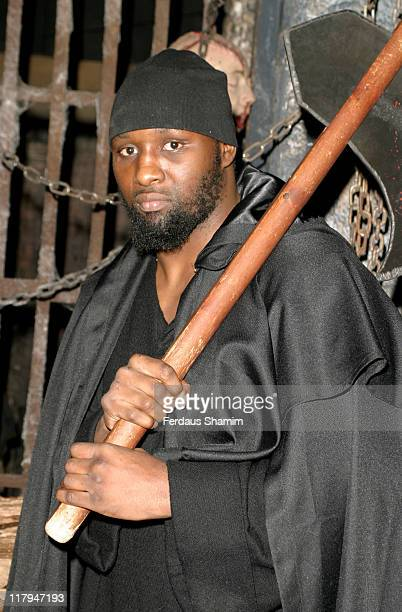 Danny Williams during Danny at The Dungeons Photocall at London Dungeon in London Great Britain
