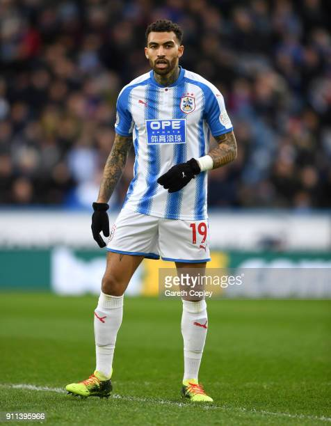 Danny Williams of Huddersfield Town during The Emirates FA Cup Fourth Round match between Huddersfield Town and Birmingham City at John Smith's...
