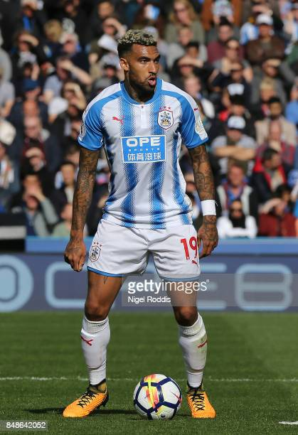 Danny Williams of Huddersfield Town during the Premier League match between Huddersfield Town and Leicester City at John Smith's Stadium on September...
