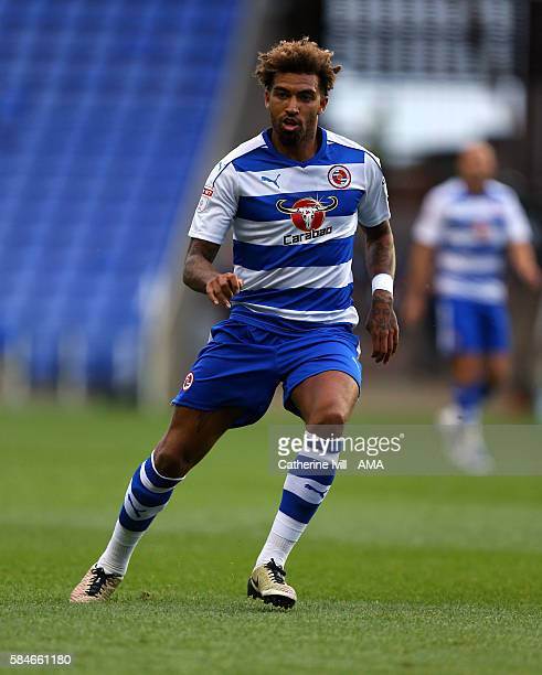 Danny Williams of Reading during the PreSeason Friendly match between Reading and AFC Bournemouth at Madejski Stadium on July 29 2016 in Reading...