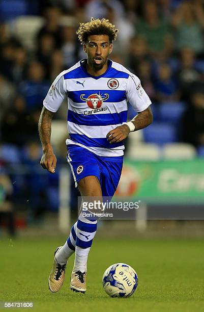 Danny Williams of Reading in action during the pre season friendly match between Reading and AFC Bournemouth at Madejski Stadium on July 29 2016 in...