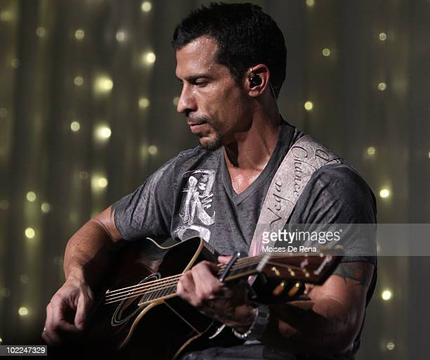 Danny Wood of New Kids On The Block performs at Radio City Music Hall on June 19 2010 in New York City