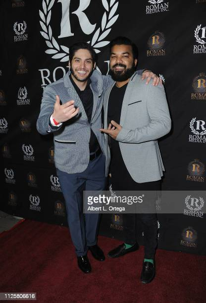 Danny Zureikat and Adrian Dev arrive for Roman Media's 5th Annual Hollywood Event A Celebration of Women and Diversity in Film held at St Felix on...