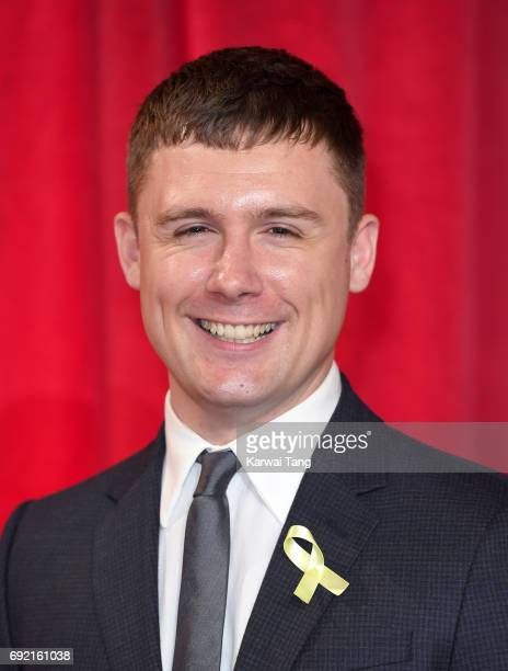 DannyBoy Hatchard attends the British Soap Awards at The Lowry Theatre on June 3 2017 in Manchester England