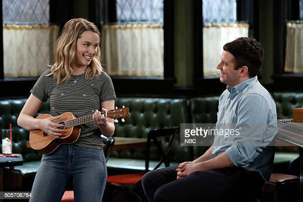 UNDATEABLE Danny's Boyz Walk Into a Bar Episode 311A Pictured Bridgit Mendler as Candace Brent Morin as Justin