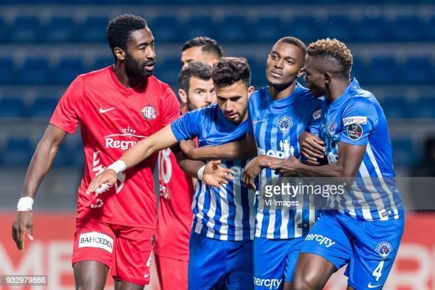 Danon Issouf Johannes Djourou Gbadjere of Antalyaspor AS Mahmoud Ahmed Ibrahim Hassan of Kasimpasa AS Bernard Mensah of Kasimpasa AS Kenneth Josiah...