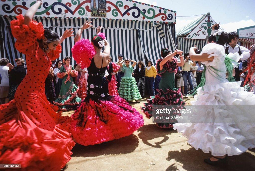?Feria de Abril? à Séville : Nieuwsfoto's