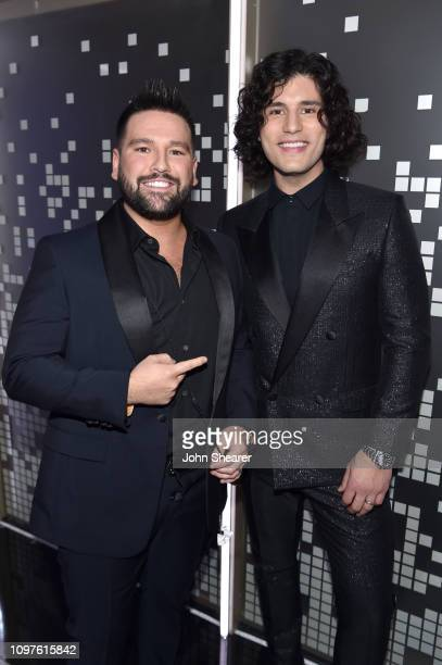DanShay poses in the press room during the 61st Annual GRAMMY Awards at Staples Center on February 10 2019 in Los Angeles California