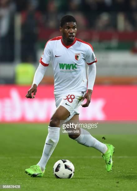 Danso Kevin Ghana Fussballer FC Augsburg 1907 05 April 2017 Danso Kevin Ghana soccer player FC Augsburg 1907 April 5 2017