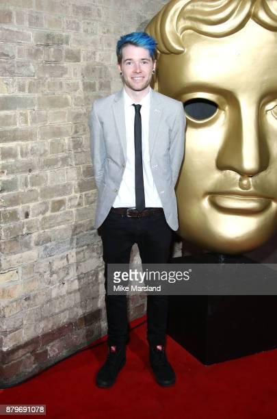 DanTDM attends the BAFTA Children's awards at The Roundhouse on November 26 2017 in London England