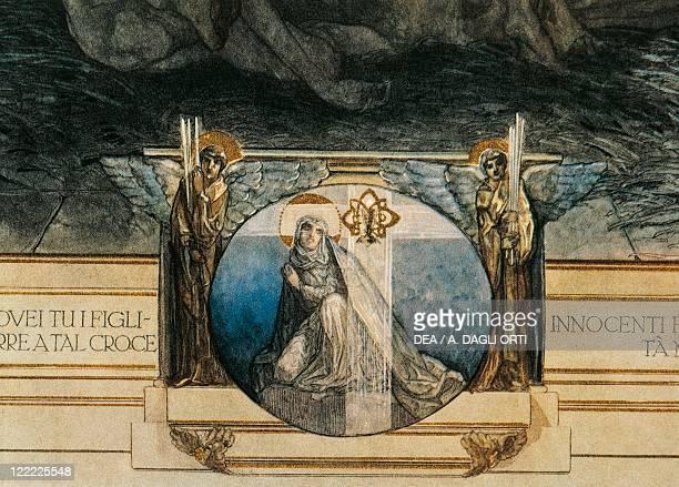 Dante Alighieri Divina Commedia 13041321 Inferno Canto XXXIII Illustration by Franz von Bayros Vienna 1921 Detail