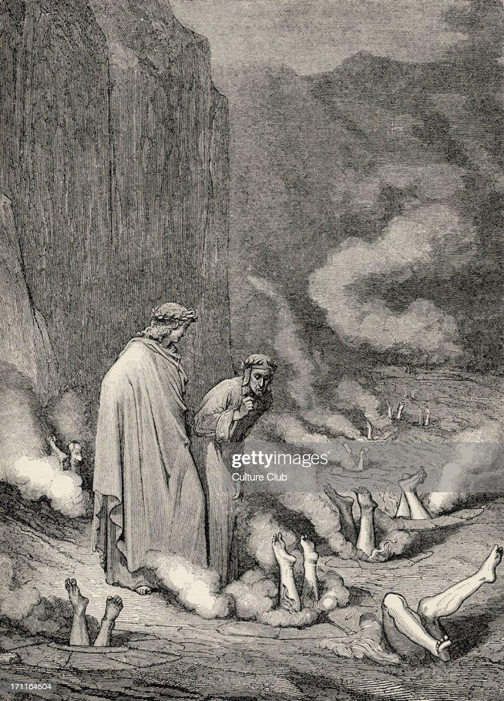 Dante Alighieri La Divina Commedia L Inferno Canto Xix
