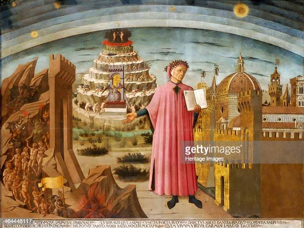 'Dante and the Divine Comedy' 14641465 From the Basilica of Santa Maria del Fiore Florence