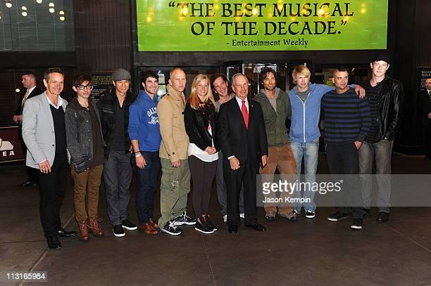 Dante Di Loreto, Kevin McHale, Harry Shum Jr., Darren Criss, Ryan Murphy; Heather Morris; Ian Brennan; Brad Falchuk; Chord Overstreet, Mark Salling...