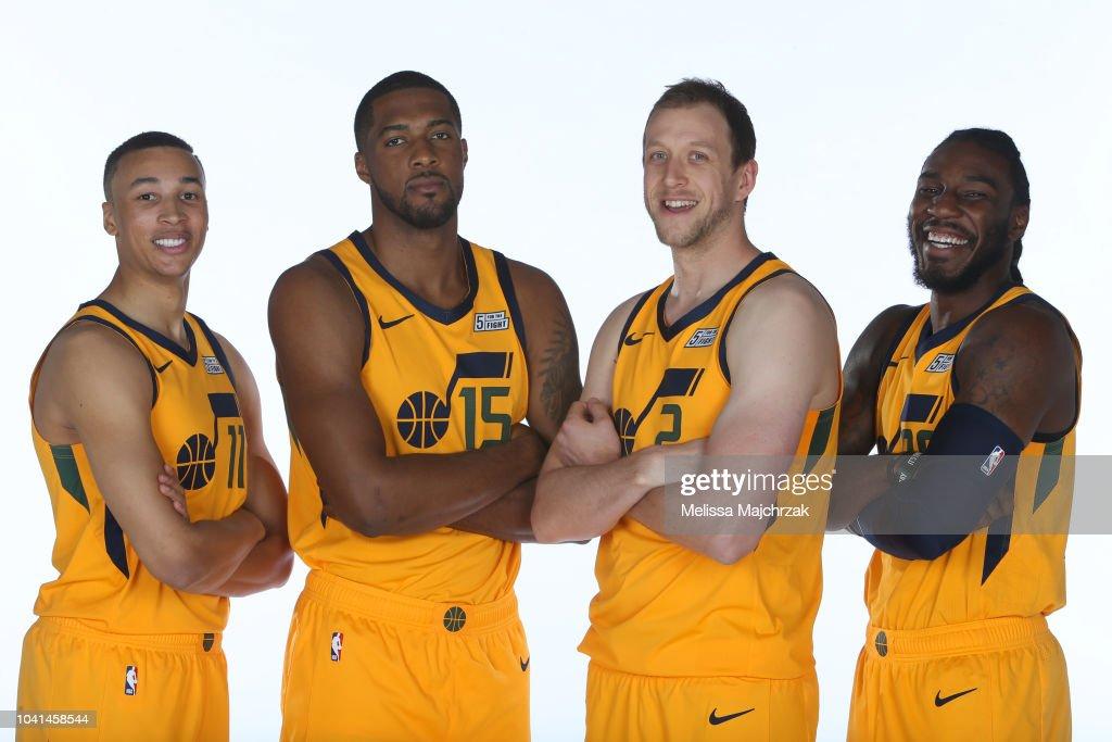 2018-19 Utah Jazz Media Day : News Photo