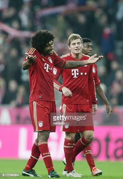 Dante FC Bayern München 1 Bundesliga Fussball FC Bayern München Hannover 96 50 Saison 2012 / 2013