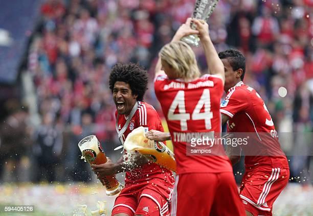 Dante FC Bayern München 1 Bundesliga Fussball FC Bayern München FC Augsburg 30 Deutscher Fussball Meister 2013 Feierlichkeiten Saison 2012 / 2013