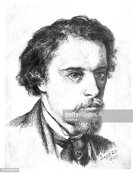 Dante Gabriel Rossetti English painter and poet Along with others he founded the PreRaphaelite school of painting