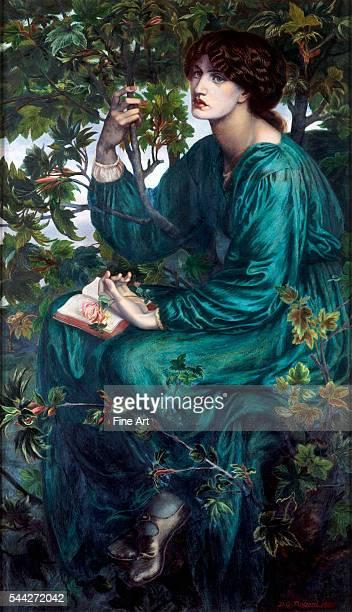 Dante Gabriel Rossetti The Day Dream oil on canvas Victoria and Albert Museum London