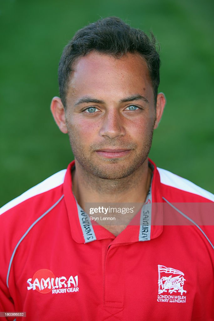 Dante Mama of London Welsh poses for a portrait during a London Welsh Media Day at Kassam Stadium on September 4, 2013 in Oxford, England.