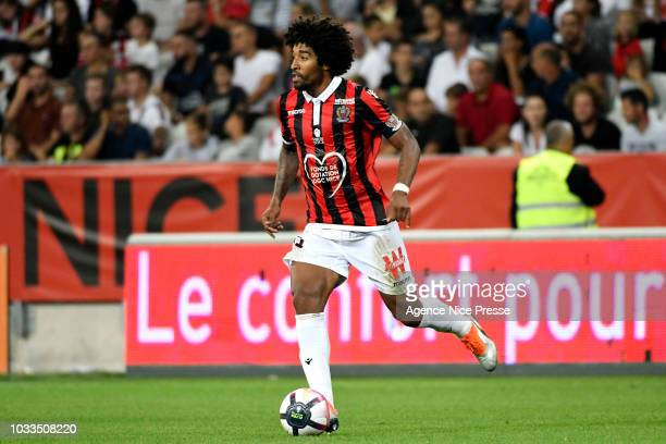Dante of Nice during the French Ligue 1 match between Nice and Rennes on September 14 2018 in Nice France