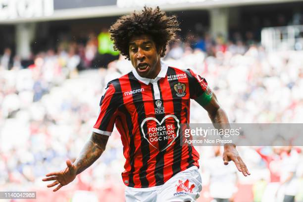 Dante of Nice during the Ligue 1 match between Nice and Guingamp at Allianz Riviera Stadium on April 28 2019 in Nice France