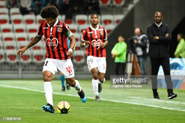 Dante of Nice during the Ligue 1 match between Nice and Toulouse at Allianz Riviera Stadium on March 15 2019 in Nice France
