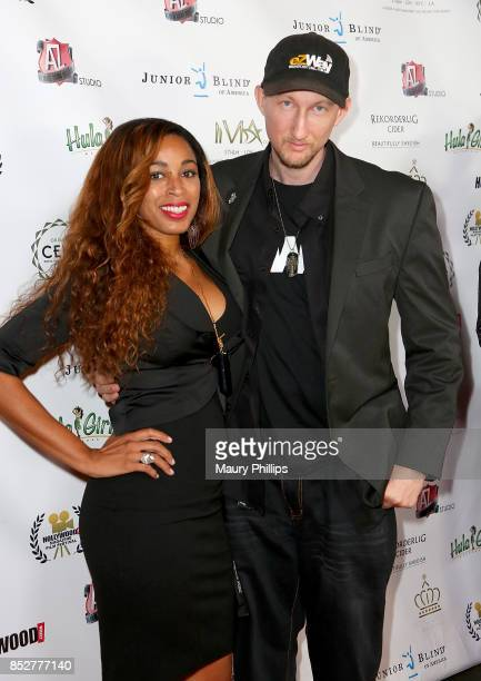 Dante Sears and Eric Zuley arrive at Hollywood Weekly Magazine 4th Annual film festival at Raleigh Studios on September 23 2017 in Los Angeles...