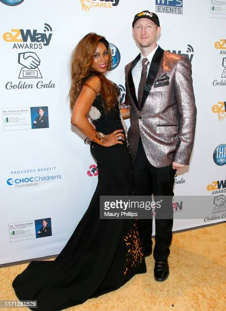 Dante Sears and Eric Zuley attend the eZWay Awards Golden Gala at Center Club Orange County on August 30 2019 in Costa Mesa California