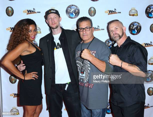 Dante Sears Eric Zuley Paul Herrera and Dave Brock attend Ready for War presented by Extreme Fighters MMA events on October 07 2017 in Long Beach...