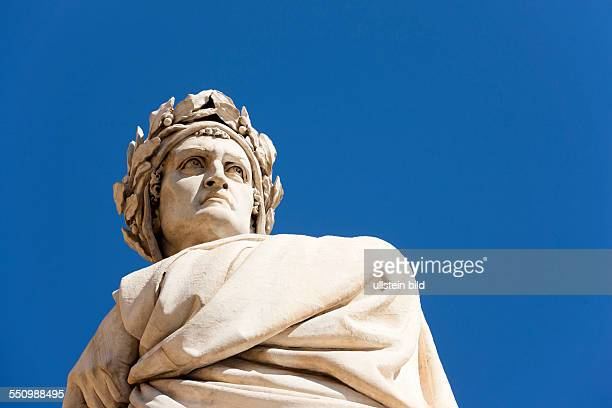 Dante's statue Florence Italy